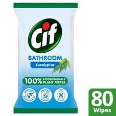 Cif Biodegradable Kitchen Wipes - Eucalyptus